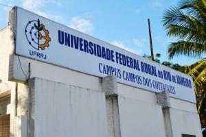 Câmpus de Campus dos Goytacazes, município do interior do estado do Rio de Janeiro