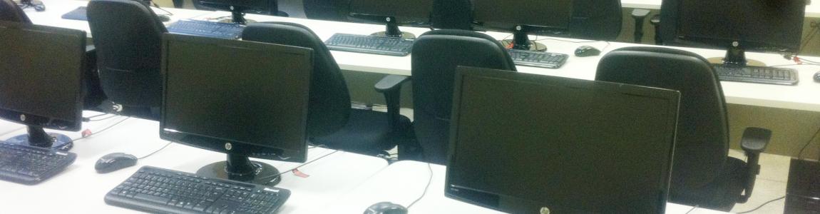 Laboratório de Informática do ITR - câmpus Três Rios (Foto: Aline Avellar)