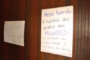 Mesa A História dos Direitos das Mulheres