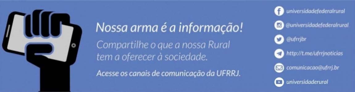 Canais de Comunicação UFRRJ